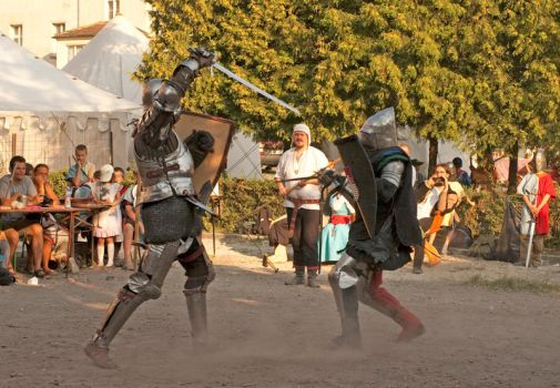 The fight of Knights 2 by grindz0ne