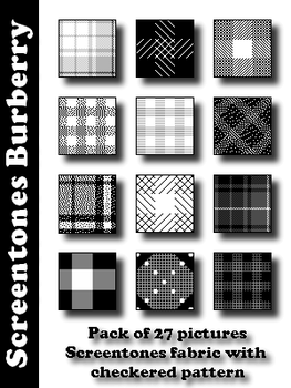 Screentones Burberry by bakenekogirl