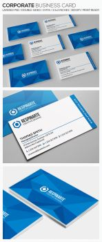 Corporate Business Card - RA72 by respinarte