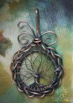 Celtic Tree of Life (VERSION THREE) by RachaelsWireGarden