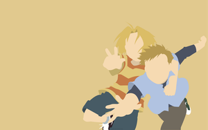 Edward Elric and Alphonse Elric - FMA by Dingier