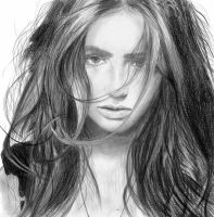 Lily Collins by J-Mah