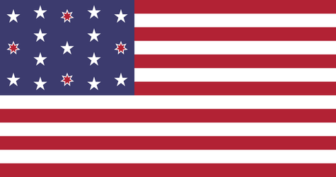 Date Encoded US Flag by Wolf-ODonnell