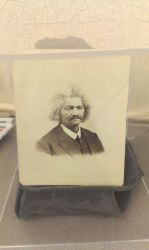 Never before seen Frederick Douglass photo by Android-shooter