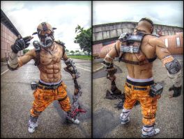 Psycho Krieg Borderlands 2 Leon Chiro Cosplay Art by LeonChiroCosplayArt