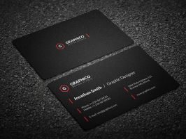 Simple Clean Business Card - 57 by nazdrag