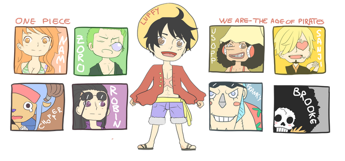 2yl: Straw Hat Pirates by Chiyo-chi