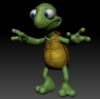 Final Turtle In Zbrush by dromens
