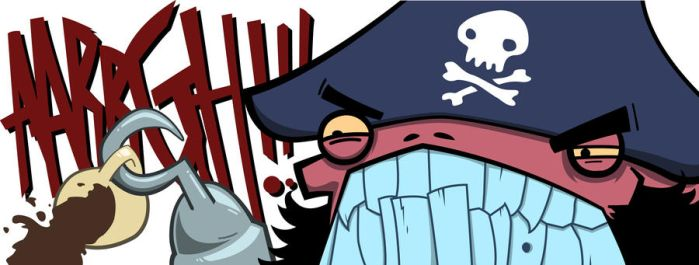 pirates can't drink by stalkingmeat