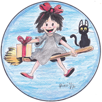 KIKI'S DELIVERY SERVICE SPEED DRAWING THUMB+VID by IDROIDMONKEY