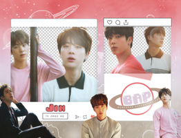 Pack Png 1429 // Jin (BTS) (NOW 3 Chicago) by BEAPANDA