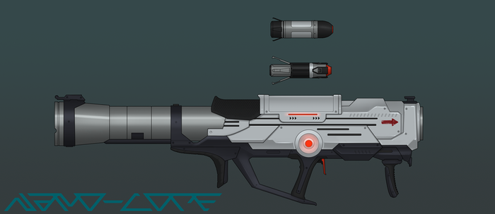 Omega Rocket Launcher Commission by Nano-Core