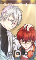 mystic messenger zen and 707 by rekoochii