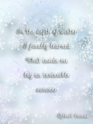 In the Depths of Winter Project Life Card by MouseMakesMess
