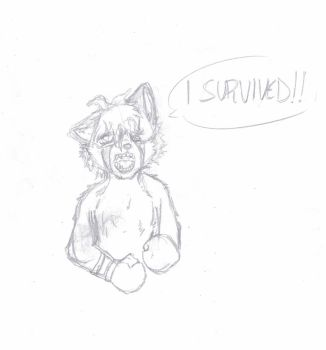 I SURVIVED![sketch] by MaximirusuPauaa