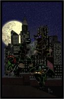 2015-12-18 - TMNT - Turtles Rooftop Preview by Jareth210