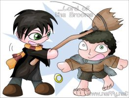 Lord of the Brooms by nef