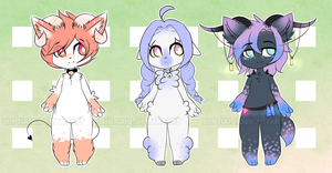 More furry adopts |C L O S E D| by ZowKat