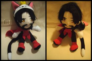 Reeve as Caith Sith Plushie by VesteNotus
