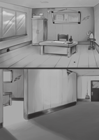 B+W Backgrounds by TopperHay