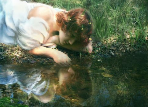Narcissus by RiverOfConsciousness