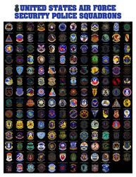 Securit Police Squadron Patch Poster final by quadstar41562