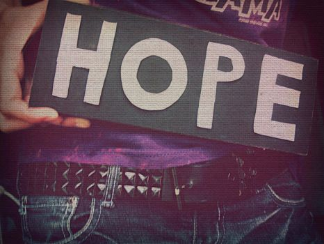 HOPE. by FreeTheSanity