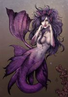 Mermaid color by sidney280