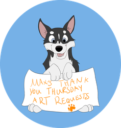 Max's Thank You Thursday Free Art by Essansee