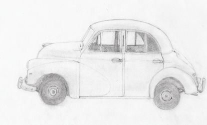 Morris Minor by crystal-hail