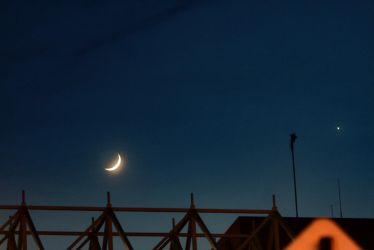 Crescent Moonrise by MoreThanNothing
