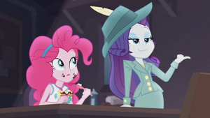 MLP EQG Rarity Investigates  Moments 4 by Wakko2010