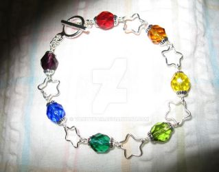 Rainbow Bracelet- Commission by vanityfair