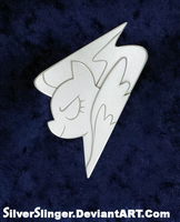 Wing Pony Badge Version 2 by SilverSlinger