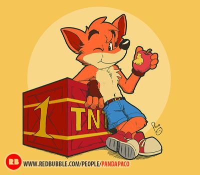 Our favorite Bandicoot by pandapaco