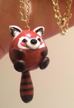 Red Panda Charm by KytCordell