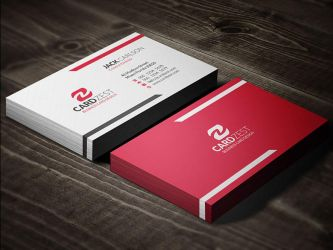 Free business card templates by mengloong on deviantart mengloong 1 0 bright vivid red modern business card template by mengloong friedricerecipe Image collections