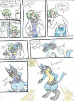 Lucky Lucario tf request by RaiinbowRaven