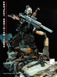 GATE TOYS X 33 Industry 1/6 Scale Project Obsidian by CalvinsCustom