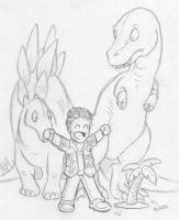 Wash, King of the Dinosaurs by LynxGriffin