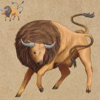 Pokemon Sketch--Tauros