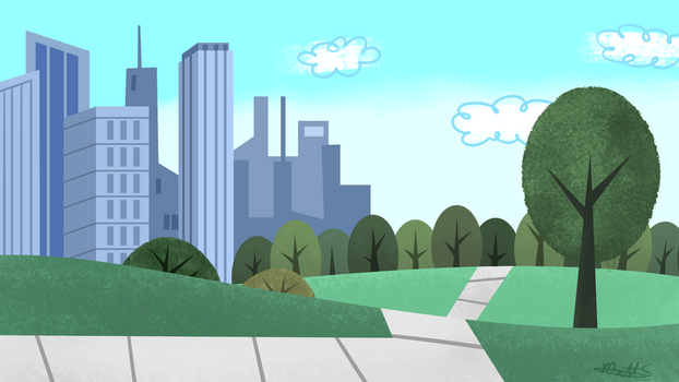 PPG-ish background thing by LWB-the-FluffyMystic