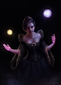 Courtier Magician by JuneAgain