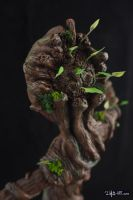 [Garage kit painting #14] Baby Groot statue - 013 by DasArt