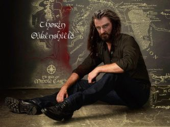 Thorin Oakenshield Au Modern Smaller Background by captjackspeanut