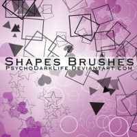 Shapes Brushes by ObscureLilium