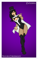 Commission - JLoW Zatanna by Femmes-Fatales