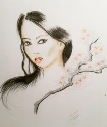 japanese girl by tonez1