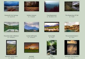 sept submissions: 9th-13th by Scapes-club