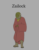 Zailock - Orc Wizard by Motion-Music